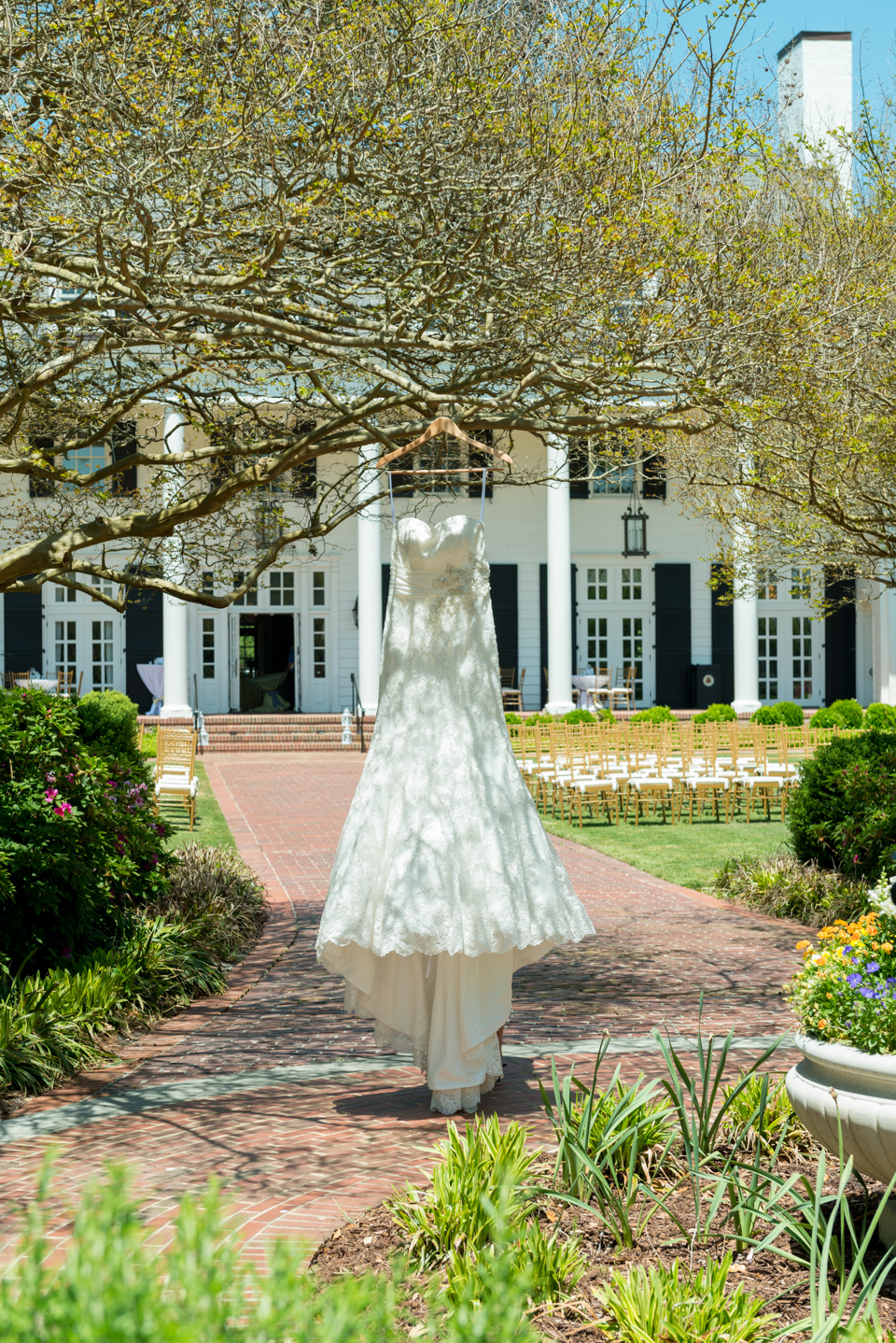 vintage wedding gown, Pine Lakes, Myrtle Beach