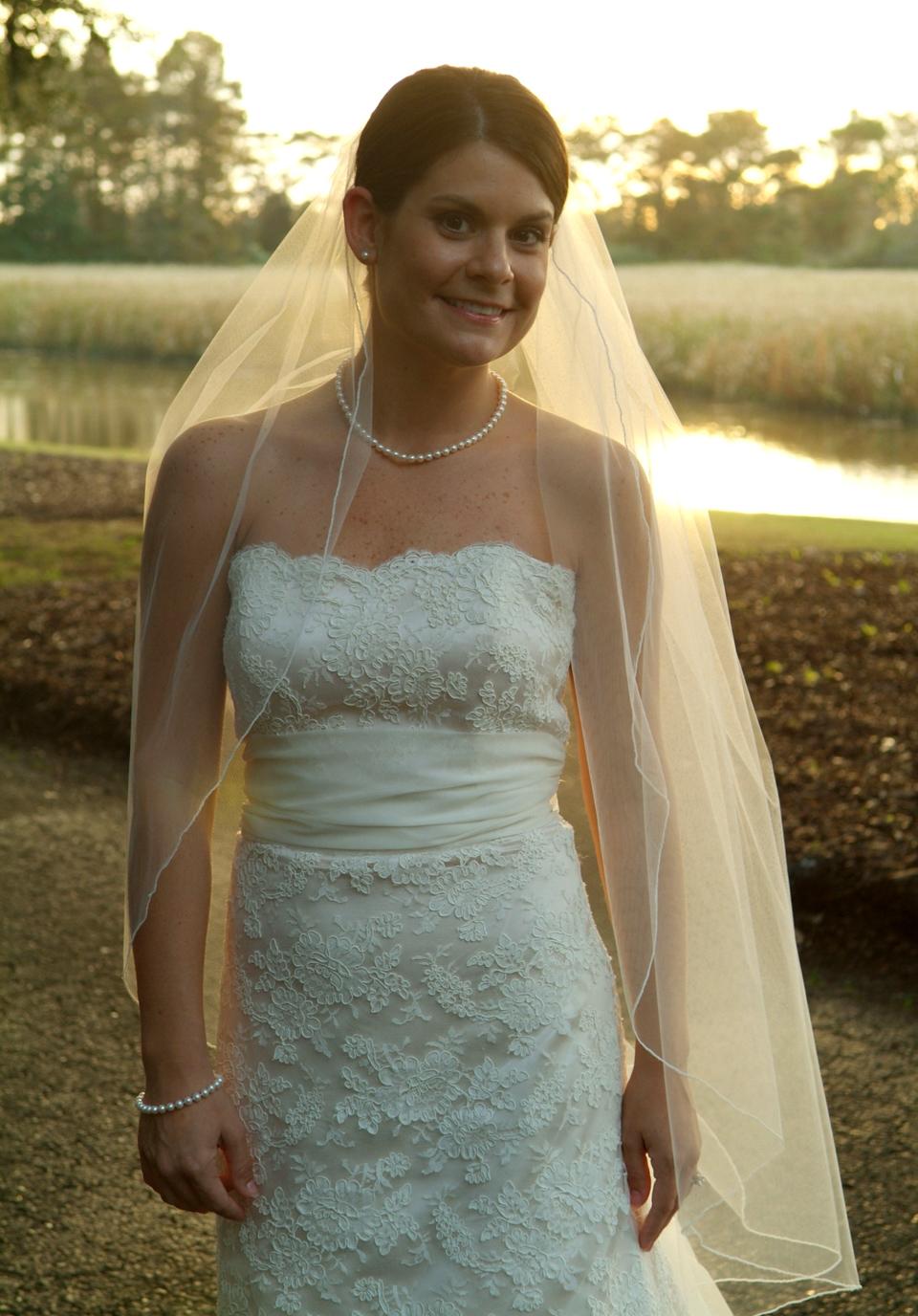 Bridal portrait, Caledonia